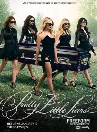 Pretty Little Liars: un poster della seconda metà della sesta stagione