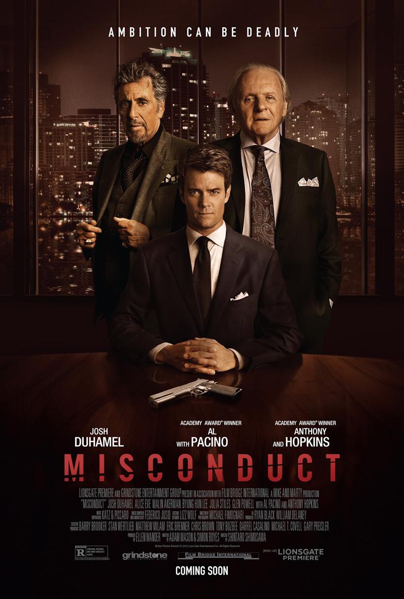 Misconduct: il poster del film