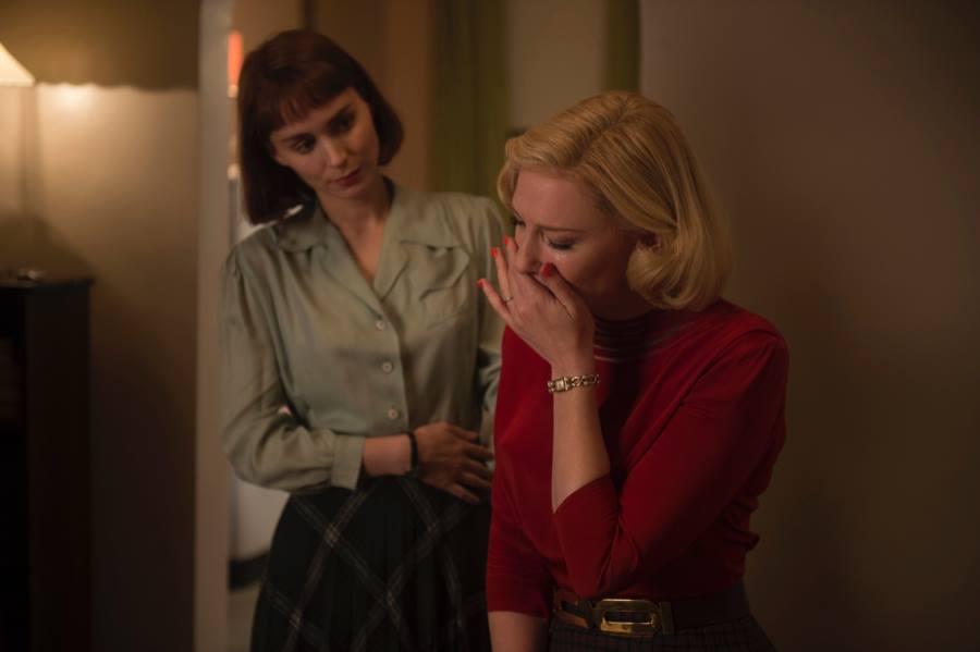 Carol: Cate Blanchett e Rooney Mara in un momento intimo