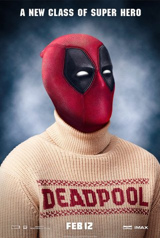 Deadpool: il poster dedicato all'Ugly Sweater Day