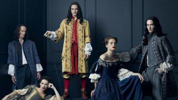 Versailles: i protagonisti della serie in una foto promozionale