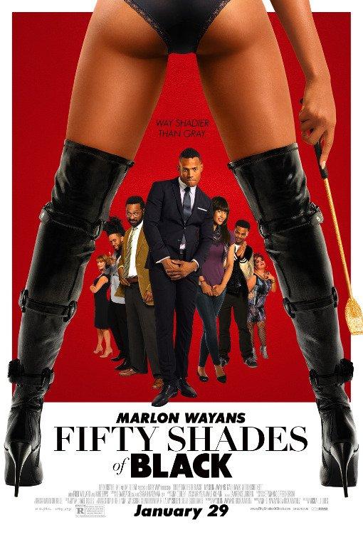 Fifty Shades of Black: la nuova provocatoria locandina