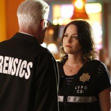CSI: Scena del crimine - l'attrice Jorja Fox in una foto dell'episodio Immortality