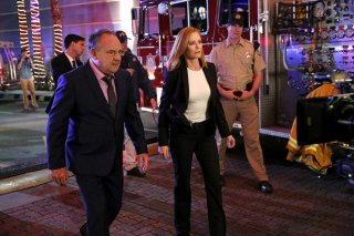 CSI: Scena del crimine - Paul Guilfoyle e Marg Helgenberger in una foto di Immortality