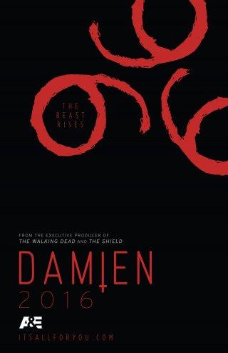 Damien: il poster della serie tv A&E