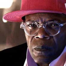 Kingsman: Secret Service - Un primo piano di Samuel L. Jackson nei panni del villain Richmond Valentine