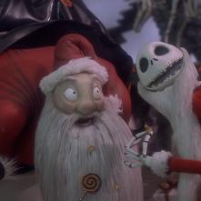 Nightmare Before Christmas, una sequenza del film