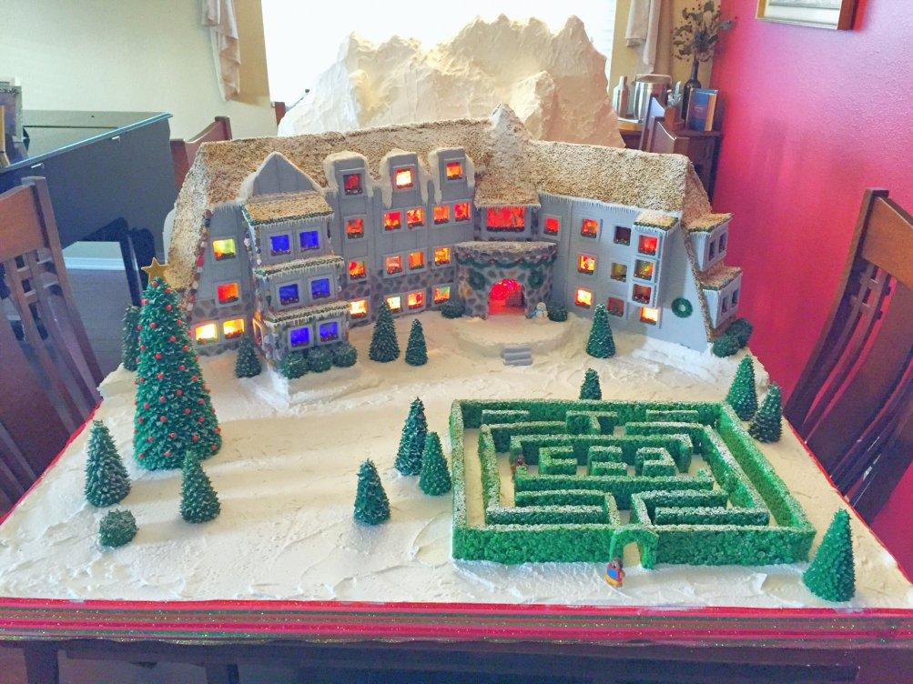 Shining: l'Overlook Hotel fatto di pan di zenzero