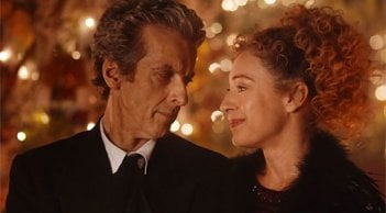 Doctor Who: Peter Capaldi e Alex Kingston in The Husbands of River Song