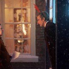 Doctor Who: Matt Lucas e Peter Capaldi in un'immagine tratta da The Husbands of River Song