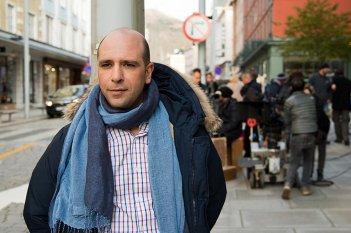 Quo vado?: Checco Zalone sul set del film