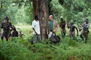 Quo vado?: Checco Zalone in una scena del film ambientata in Africa