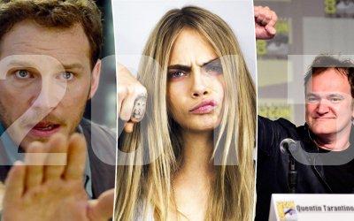 Le star del 2015: da Chris Pratt a Tarantino, ecco chi ha lasciato il segno