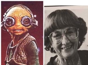 Star Wars: Il Risveglio della Forza - Maz e la professoressa Rose Gilbert