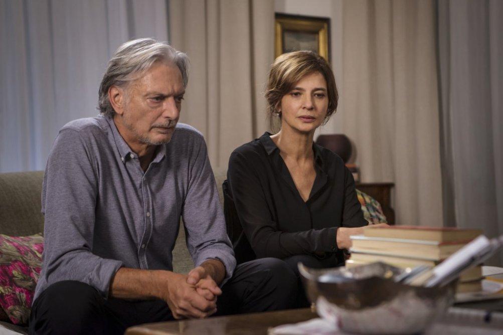 Assolo: Laura Morante e Gigio Alberti in una scena del film
