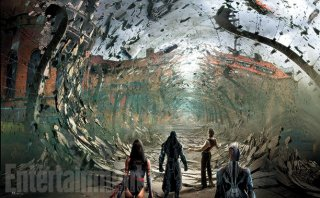 X-Men: Apocalypse - Un concept art del film