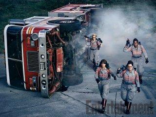 Ghostbusters: una nuova foto delle protagoniste in azione