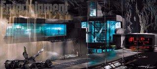 Batman v Superman: Dawn of Justice - Uno sguardo ravvicinato alla Batcaverna