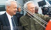 Sully: una foto mostra Tom Hanks e Clint Eastwood sul set