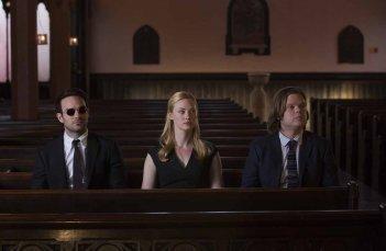 Daredevil: Charlie Cox,  Deborah Ann Woll e Elden Henson a una funzione