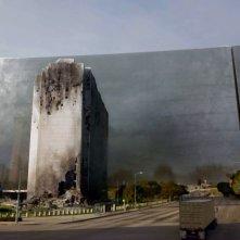 Colony: una foto della città di Los Angeles nella versione post invasione aliena