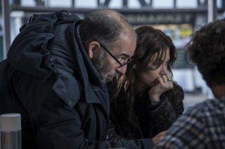 La corrispondenza: Olga Kurylenko e Giuseppe Tornatore sul set del film