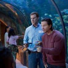 Daddy's Home: Will Ferrell e Mark Wahlberg in una scena del film