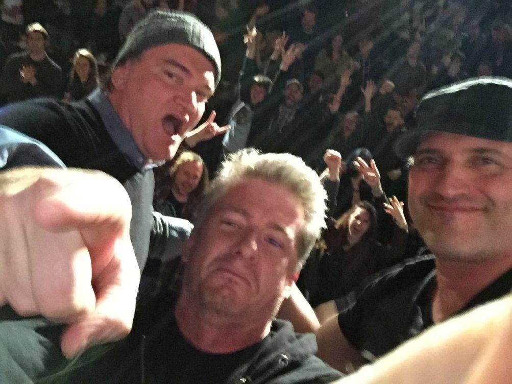 The Hatefgul Eight: Quentin Tarantino e Roberts Rodriguez a sorpresa fanno visita agli spettatori della sala Alamo di Austin