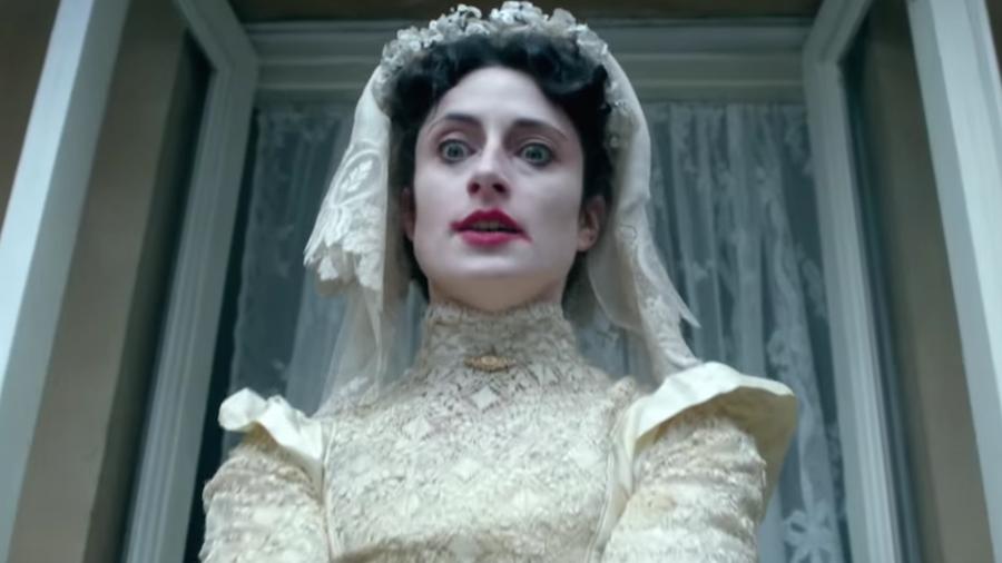 Sherlock - L'abominevole sposa: un primo piano di Natasha O'Keeffe