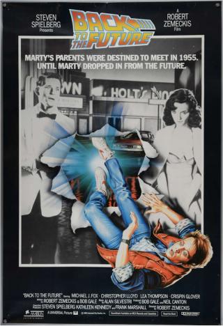 Ritorno al futuro, un poster tra quelli realizzati per il film e poi scartati.