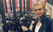 Valerian: Cara Delevingne condivide le prime foto dal set