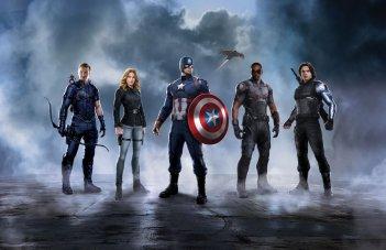 Captain America: Civil War - Una promo art del team di Captain America