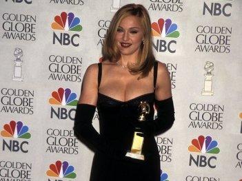Madonna premiata con il Golden Globes per Evita