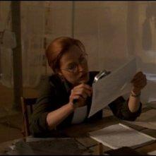 X-Files: Gillian Anderson in una scena de La sesta estinzione