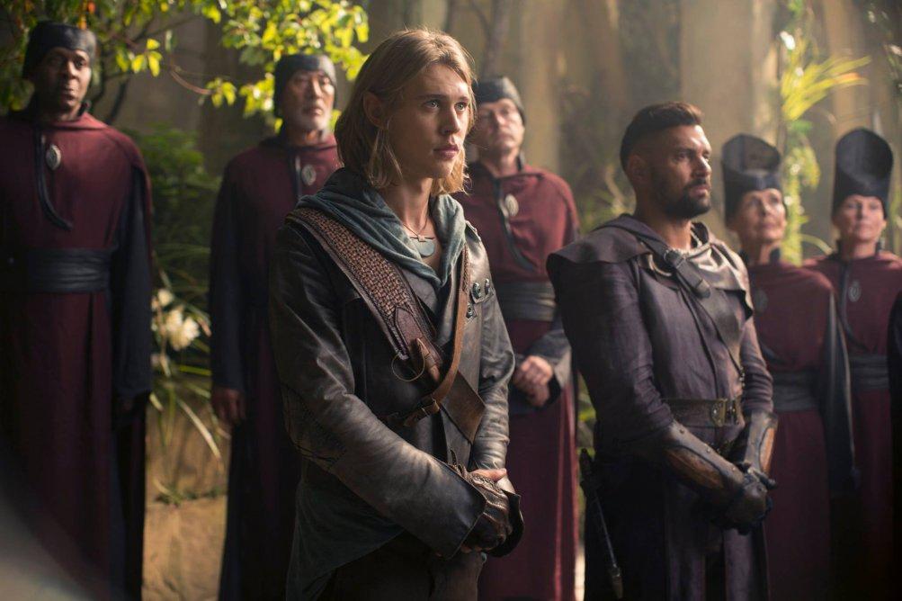 The Shannara Chronicles: Austin Butler e Manu Bennett in una foto della serie