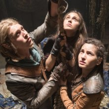 The Shannara Chronicles: Austin Butler, Poppy Drayton e Ivana Baquero in una foto della serie