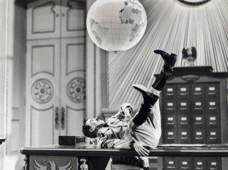 Charlie Chaplin ne Il grande dittatore