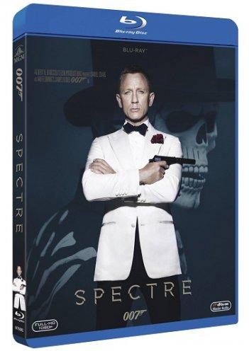 la cover del blu-ray di Spectre