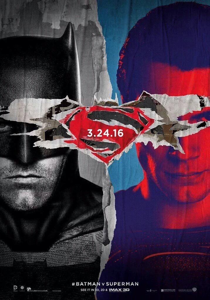 Batman V Superman: Dawn of Justice - Una nuova locandina artistica