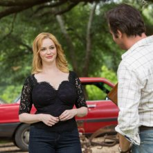 Hap and Leonard: un'immagine di Christina Hendricks e James Purefoy