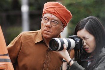 L'abbiamo fatta grossa: Carlo Verdone e Francesca Fiume in una scena del film
