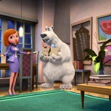 Il viaggio di Norm: una scena del film animato