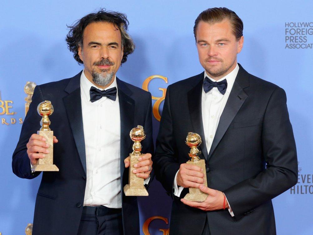 Golden Globes 2016, DiCaprio e Inarritu premiati per Revenant