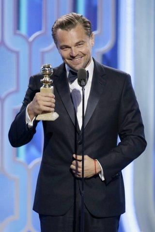 Golden Globes 2016, Leonardo DiCaprio premiato per Revenant
