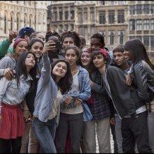 Una volta nella vita: un'immagine che ritrae i giovani protagonisti del film