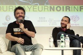 L'ispettore Coliandro: Marco e Antonio Manetti a Courmayeur 2015