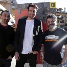 L'ispettore Coliandro: Marco Manetti, Antonio Manetti e Giampaolo Morelli a Courmayeur 2015