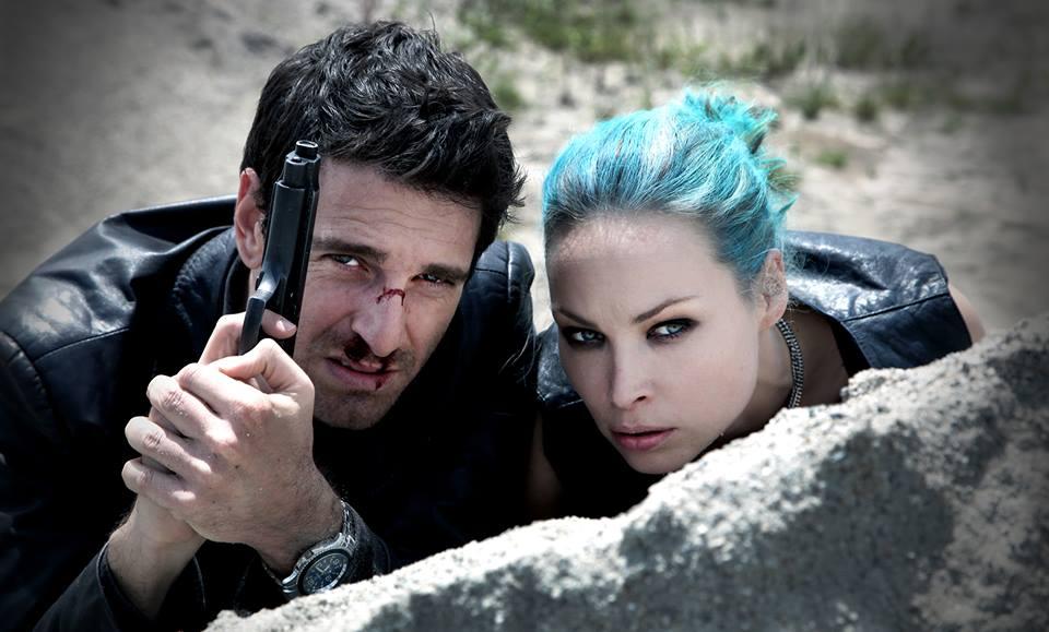 L'ispettore Coliandro: Giampaolo Morelli e Weronika Ksiazkiewicz in una scena