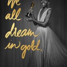 Oscar: Lupita Nyong'o in un poster dell'88esima edizione