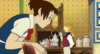 La ricompensa del gatto: una scena del film animato